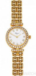Chopard Montres Dame Round Gold Diamonds 105895-0006
