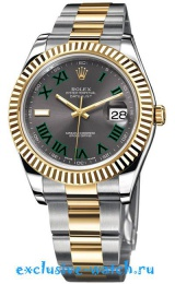Rolex DATEJUST II 41MM STEEL AND YELLOW GOLD 116333 GREY DIAL