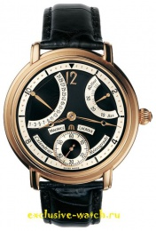 Maurice Lacroix MASTERPIECE CALENDRIER RETROGRADE ROSE GOLD MENS 43MM MP6368-PG101-390