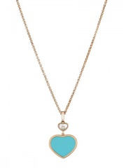 HAPPY HEARTS ROSE GOLD NECKLACE 797482-5401