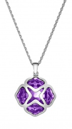 IMPERIALE COCKTAIL WHITE GOLD NECKLACE 799220-1003