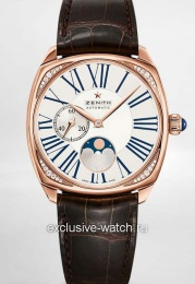 Zenith HERITAGE STAR MOONPHASE ROSE GOLD 22.1925.692/01.C725