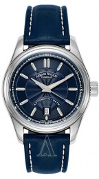 Armand Nicolet M02 Men's Automatic Watch 43 mm 9140A2-BU-P140BU2