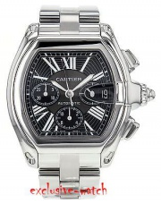 Cartier ROADSTER CHRONOGRAPH LARGE XL AUTOMATIC MENS W62020X6