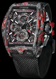 Cvstos CHALLENGE CHRONO II BLACK FORGED CARBON HONOLULU