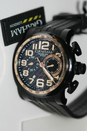 Graham Silverstone Stowe Classic Gold 48mm AN-2BLDZ-1