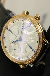 Maurice Lacroix MASTERPIECE DOUBLE RETROGRADE GOLD MP7018-PD501-930