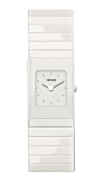 Rado Ceramica Small White Dial Ladies R21712022