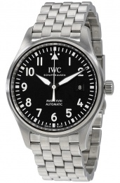 Iwc Black Dial Men's Watch IW327011