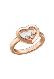 HAPPY DIAMONDS ICONS ROSE GOLD RING 82A611-5110