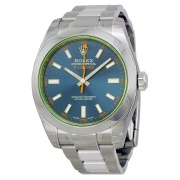 Rolex Automatic Blue Dial Stainless Steel 116400GV