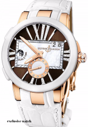Ulysse Nardin Executive Dual Time Lady 246-10/30-05