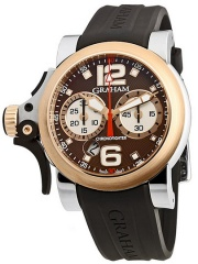 Graham Chronofighter R.A.C Trigger Havana Rush 46mm 2TRAG.C01A.B72