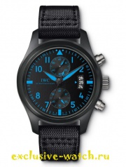 Iwc PILOT BLUE CHRONOGRAPH TOP GUN BOUTIQUE EDITION CERAMIC AND TITANIUM 46MM IW388003