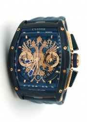 Cvstos JET-LINER PROUD TO BE RUSSIAN - GERARD DEPARDIEU EDITION BLUE STEEL PVD Proud to be Russian