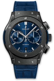 Hublot Ceramic Blue 521.CM.7170.LR