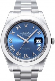 Rolex Datejust II blue dial 116300-7