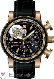 Graham TOURBILLOGRAPH ROSE GOLD. LIMITED EDITION 25 pcs 2TWBE.B07A.C104C