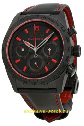 Tudor Black Shield Red