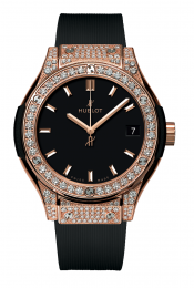Hublot King Gold Pave 581.OX.1181.RX.1704