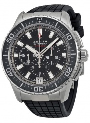 Zenith STRATOS FLYBACK BLACK 03.2060.405/21.R515