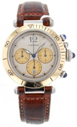Cartier Pasha Chronograph 1032 Gold/Steel 1032