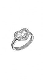 HAPPY DIAMONDS ICONS WHITE GOLD RING 82A611-1210