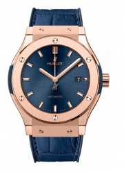 Hublot King Gold Blue 542.OX.7180.LR