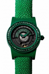 de Grisogono TONDO BY NIGHT FOREST GREEN Tondo S09