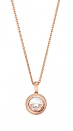 HAPPY DIAMONDS ICONS ROSE GOLD NECKLACE 79A018-5001