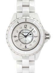 Chanel Ceramic Diamonds Quartz Ladies Watch H2422