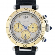 Cartier PASHA CHRONOGRAPH 38mm 1032 Gold/Steel 1032