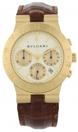 Bvlgari Chronograph Gold Automatic CH35G
