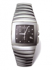 Rado XL MENS PLATINUM CERAMIC SWISS CHRONOGRAPH
