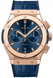 Hublot King Gold Blue 521.OX.7180.LR