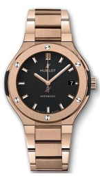 Hublot King Gold Blue Bracelet 585.OX.1180.OX