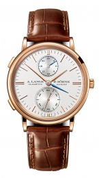 A. Lange & Sohne Dual Time 38.5mm Mens Watch 386.032