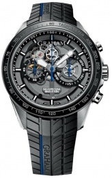 Graham SILVERSTONE RS SKELETON CHRONOGRAPH BLUE 2STAC3.B01A.K91F