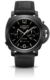 Officine Panerai LUMINOR 1950 CHRONO MONOPULSANTE 8 DAYS GMT CERAMICA 44MM PAM00317