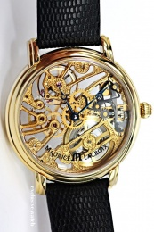 Maurice Lacroix Masterpiece Skeleton gold