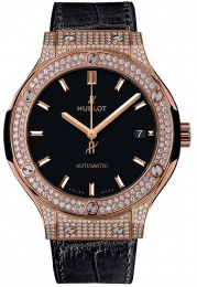 Hublot King Gold Pave 565.OX.1181.LR.1704