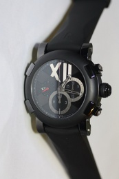 Romain Jerome Titanic DNA Black Steel Chrono 50mm CH.T.BBBBB.00.BB