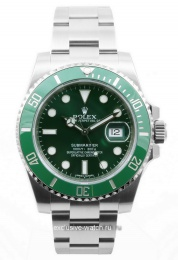 Rolex SUBMARINER GREEN DIAL 'HULK' 116610LV