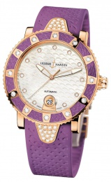 Ulysse Nardin Purple Rubber 8106-101E-3C/10.17