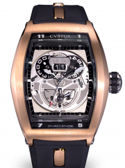 Cvstos TWIN-TIME ROSE GOLD CTT RGR