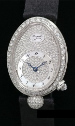 Breguet Queen of Naples Automatic White Gold Mother-Of-Pearl Dial Ladies Watch G8928BB8D844DD0D