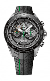 Graham SILVERSTONE RS SKELETON CHRONOGRAPH GREEN 2STAC2.B01A