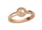 Happy Diamonds Miss Happy Rose Gold Ring 829010-5110