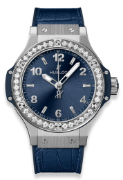 Hublot Steel Blue Diamonds 361.SX.7170.LR.1204