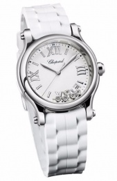 Chopard Round Quartz Ladies Watch 36mm 278582-3001